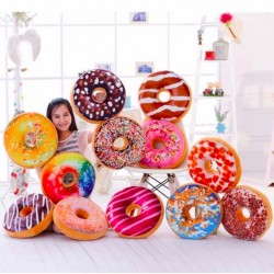 Ring Cartoon Donuts Cushion Pillow 35 * 35cm