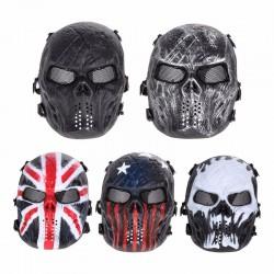 Czaszka Paintball Cała Twarz Ochronna Maska