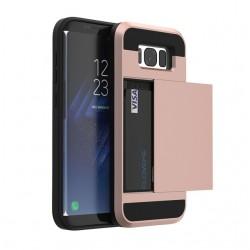 Samsung Galaxy S8 S8 Plus Hybrid Kaartslot Hard PC+Soft TPU Beschermhoes |