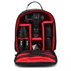 Canon Nikon DSLR HU-00 Waterproof Shockproof Padded Backpack Case