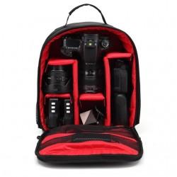 Sac à dos waterproof avec parties anti-choc Canon Nikon DSLR HU-00