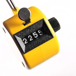 Tally Counter Hand Held 4 Digit Number Clicker