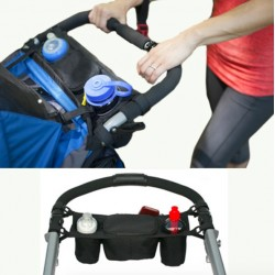Baby Stroller Organizer Cooler & Thermal Bottle Bag|