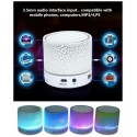 LED Light Bluetooth Wireless Speaker With Microphone