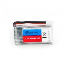 5X Eachine E011 E011C JJRC H67 3.7V 260MAH 30C battery charger set RC Quadcopter