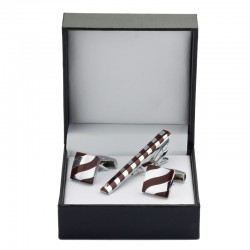 Men's Fashion Tie Clip & Cufflinks Set