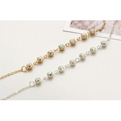 Silver Gold Fashion Crystal Anklet Bracelet
