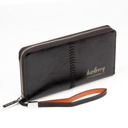 Luksusowy męski portfel z paskiem