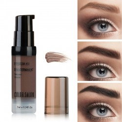 Maquillaje Cejas Semi-Permanente Impermeable Gel 7ml