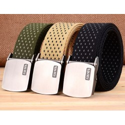 Pin Buckle Strap Canvas Strap Men's Belt
