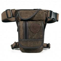 Canvas Hip Belt Waist Thigh Military Men's Bag