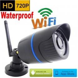 720P HD Wi-Fi Zewnętrzna Wodoodporna Na Podczerwień CCTV Kamera Bezpieczeństwa