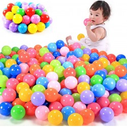 Baby Child Friendly Plastic Ball Pool Balls 100Ps