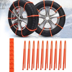 Auto Winterband Anti-Slipkettingen Set 10 stuks |