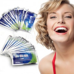 Professional Teeth Whitening Bleaching Gel Strips 28pcs