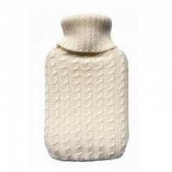 2000ml - soft knitted flannel cover for hot water bottle