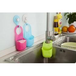 Küchen-Badezimmer-Faltendes Silikon-Hängender Speicher-Halter-Gestell