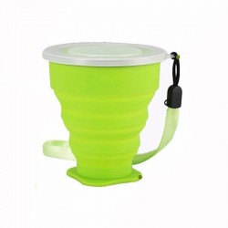 Outdoor Travel Silicone Folding Mug 200ml