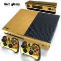 Xbox One Controller Gold Glossy Vinyl Sticker
