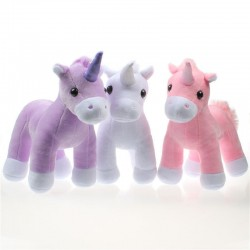 Unicorn Stuffed Soft Plush Animal Baby Kids Toy 20cm