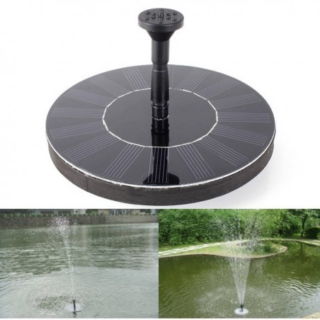 14W 7V High Power Solar Floating Fountain Water Pump Solar Panel Plants Watering Garden Fountain Pu