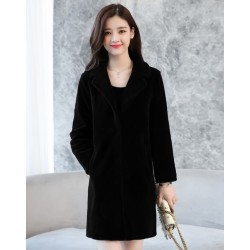 Long Wool Winter Coat Jacket