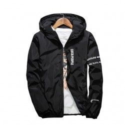 Slim fit - hooded jacket - windbreaker