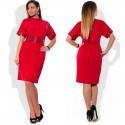 Plus Size Sequins Turtleneck Elegant Dress