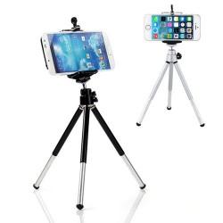 iPhone Samsung HTC 6NEB Mini 360 Obrotowy Stojak Tripod & Uchwyt Telefonu
