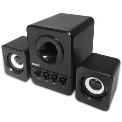 3W PC 2.1 Lautsprecher Set Subwoofer Kabel USB