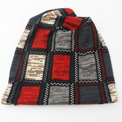 Plaid Design Unisex Winter Hat