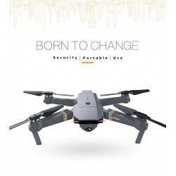 Dron Plegable Eachine E58 WIFI FPV 2MP Camera RC Quadcopter RTF