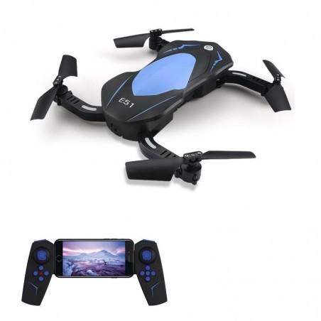 Eachine E51 WiFi FPV 720P Camera Pliable RC Quadcopter Drone RTF