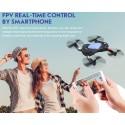 Eachine E51 WiFi FPV 720P Camera Foldable RC Quadcopter Drone RTF