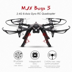 3 MJX B3 Bugs Brushless para GoPro RC Drone Quadcopter RTF