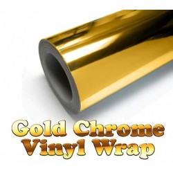 Chrome Silver Vinyl Car Sticker Electroplated Film Wrap Decal 300 * 1520mm