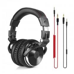 Écouteurs Professionnels DJ Studio avec Câbles