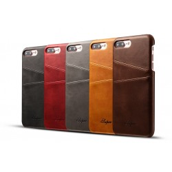 Funda de Cuero para iPhone 7 Plus iPhone 6 6S Plus