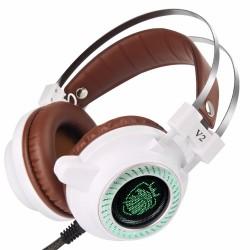V2 Hi-Fi Stereo Kopfhörer LED Licht Mit Mikrofon