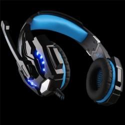 G9000 - Zestaw Słuchawkowy Z Mikrofonem LED Światło 3.5mm