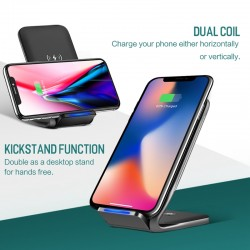 ROCK Qi Wireless Charger Fast Charging Dock