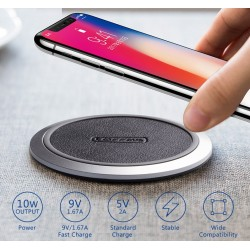 iPhone X 8 Samsung Galaxy S8 Edge Google Nexus 4 Originele Qi Draadloze Oplader Adapter Pad