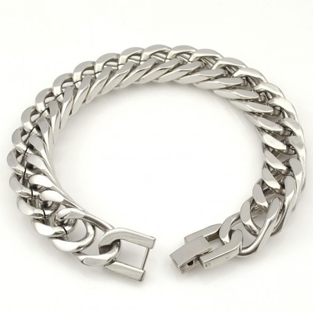 Silver Gold Stainless Steel Bracelet