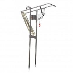 Automatyczna podwójna sprężyna kątowa - uchwyt wędki - stojak