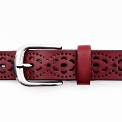 Genuine Leather Hollow Out Belt