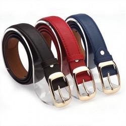 Fashion Metal Buckle Leather Belt