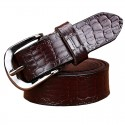 Crocodile Design Genuine Leather Belt