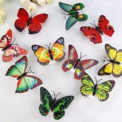 Lampade LED Adesive da Muro a Forma di Farfalla