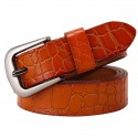 Pin Buckle Genuine Leather Belt