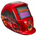 City & Flame Car Solar Mask Auto-Darkening Welding Helmet